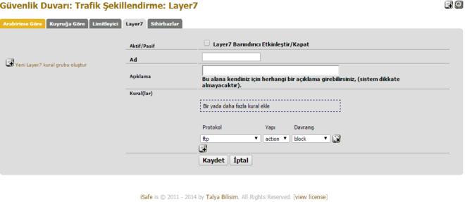 Gd-trafik-layer7-kural-ekle