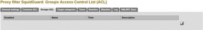 Groups-acl-list